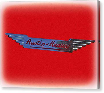 Austin-healey Canvas Print