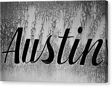 Austin Canvas Print by Mark Weaver