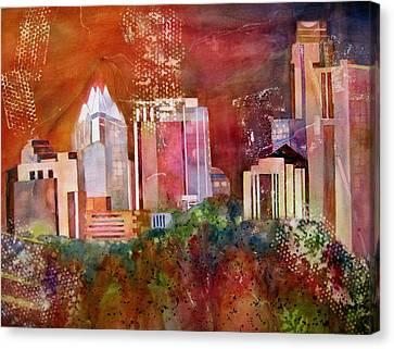 Austin Skyline IIi Canvas Print