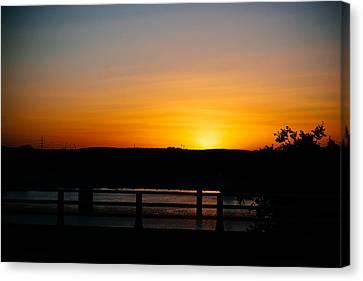 Austin Sunset Canvas Print