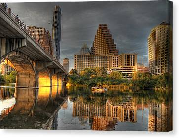 Austin Skyline Canvas Print by Jane Linders