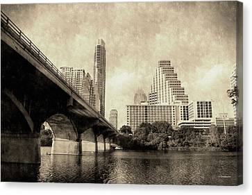 Austin Texas Vintage Canvas Print