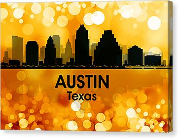 Austin Tx 3 Canvas Print by Angelina Vick