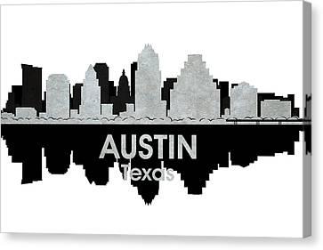 Austin Tx 4 Canvas Print by Angelina Vick