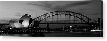 Australia, Sydney, Sunset Canvas Print by Panoramic Images
