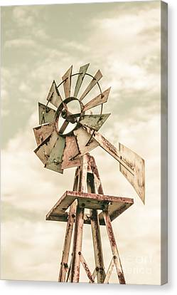 Spin Canvas Print - Australian Aermotor Windmill by Jorgo Photography - Wall Art Gallery
