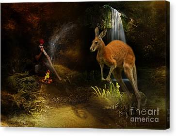 Australian Dreaming Canvas Print by Trudi Simmonds