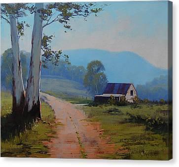 Australian Landscape Lithgow  Canvas Print