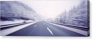 Austria, Autostrada, Panoramic View Canvas Print by Panoramic Images