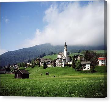 Austria, Karnten, Carinthia, View Canvas Print by Stuart Westmorland