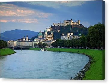 Austria, Salzburg Canvas Print by Jaynes Gallery