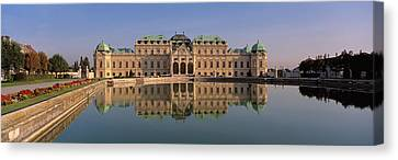 Austria, Vienna, Belvedere Palace, View Canvas Print by Panoramic Images