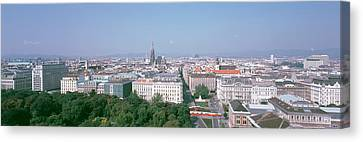 Austria, Vienna, High Angle View Canvas Print by Panoramic Images