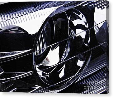 155 Canvas Print - Auto Headlight 155 by Sarah Loft