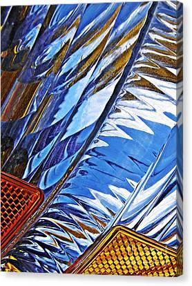 Auto Headlight 29 Canvas Print by Sarah Loft