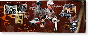 Auto Racing Hall Of Fame First Class Canvas Print