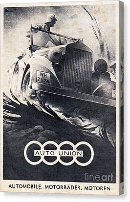 Auto Union Canvas Print