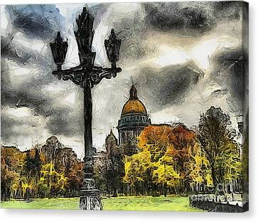 Autum Peterburg Canvas Print by Yury Bashkin