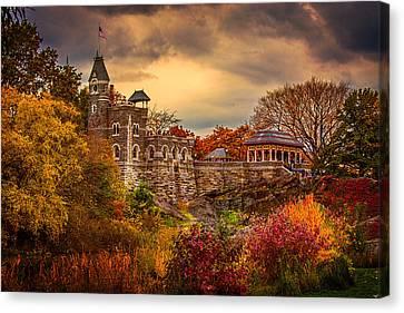 Autumn At Belvedere Castle  Canvas Print