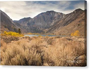 Canvas Print - Autumn At Convict Lake by Sheri Van Wert