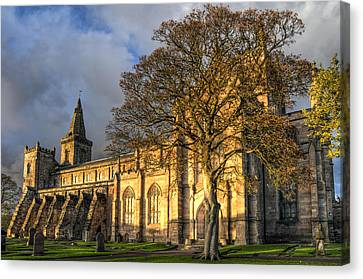 Autumn At Dunfermline Abbey Canvas Print