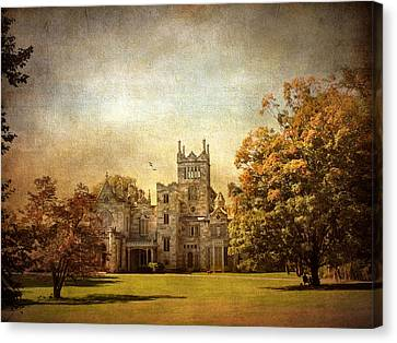 Autumn At Lyndhurst Canvas Print by Jessica Jenney