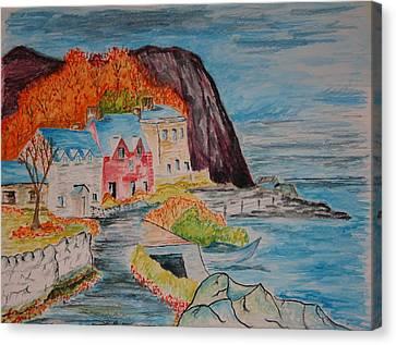 Autumn At Portbradden Canvas Print by Paul Morgan