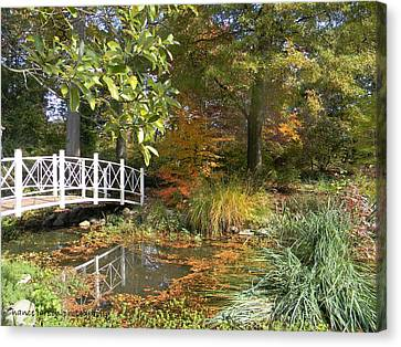Autumn At Sayen Gardens Canvas Print