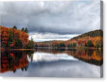 Autumn At Spectacle Pond Canvas Print