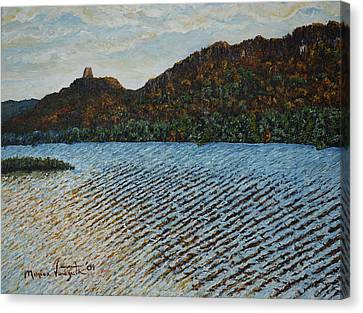 Autumn At Sugar Loaf Canvas Print by Monica Veraguth