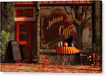 Autumn Blend Canvas Print by Daniel Eskridge