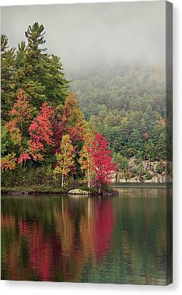 Autumn Breath Canvas Print by Evelina Kremsdorf