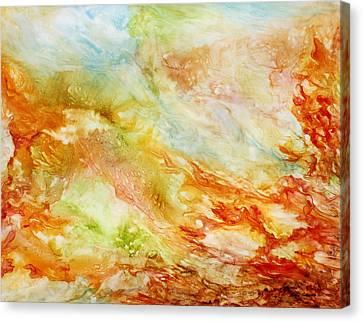 Autumn Breeze Canvas Print by Rosie Brown