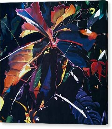 Autumn Burst Canvas Print