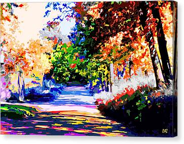 Autumn Canvas Print by CHAZ Daugherty