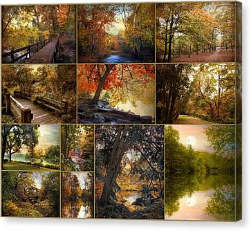 Autumn Collection Canvas Print by Jessica Jenney