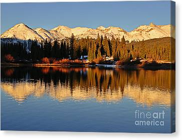 Autumn Colors At Molas Canvas Print