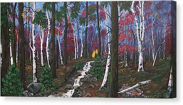 Autumn Colours Canvas Print by Sharon Duguay