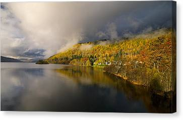 Canvas Print featuring the photograph Autumn Colours  by Stephen Taylor