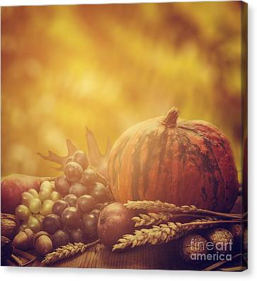 Produce Canvas Print - Autumn Concept by Jelena Jovanovic