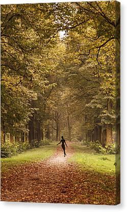 Autumn Dance Canvas Print by Alfio Finocchiaro