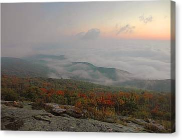 Autumn Dawn  Canvas Print by Stephen  Vecchiotti