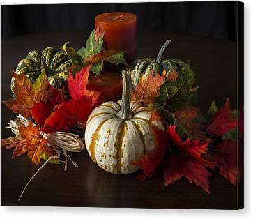 Autumn Delight Canvas Print by Jeff Burton