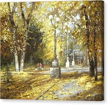 Autumn Canvas Print by Dmitry Spiros