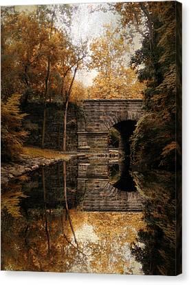 Autumn Echo Canvas Print by Jessica Jenney