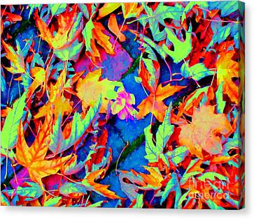 Autumn Fiesta Canvas Print by Ann Johndro-Collins