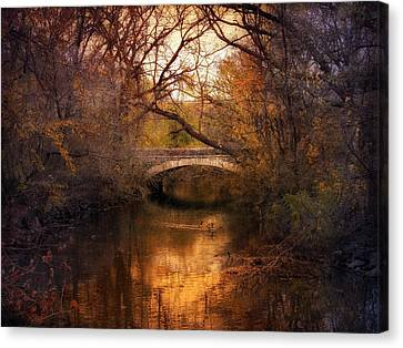 Autumn Finale Canvas Print