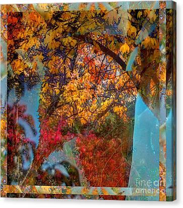 Autumn Fusion 5 Canvas Print by Jeff Breiman