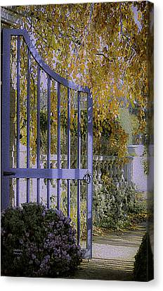 Autumn Garden Canvas Print by Julie Palencia