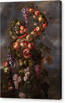 Autumn Canvas Print by Giovanni Stanchi